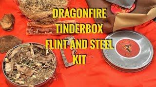 Dragon Fire Tinderbox Flint and Steel Kit