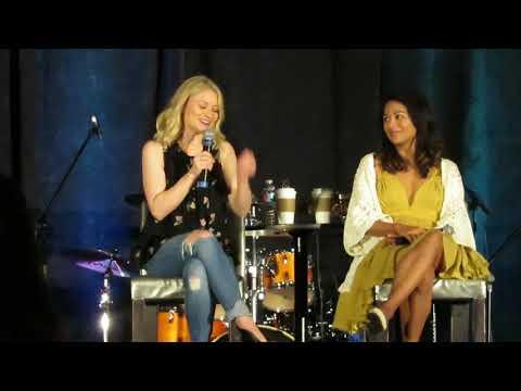 Emilie de Ravin & Karen David OUAT Orlando 2018 Panel