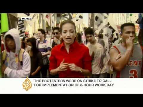 People around world mark International Workers