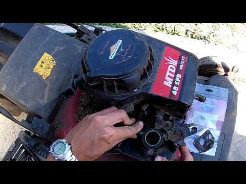 [DIY] Когда глохнет газонокосилка MTD. Ремонт карбюратора BRIGGS & STRATTON.