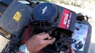 [DIY] Коли глохне газонокосарка MTD. Ремонт карбюратора BRIGGS & STRATTON.
