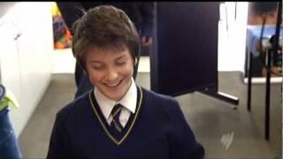 Feliks Zemdegs on SBS news July 2010