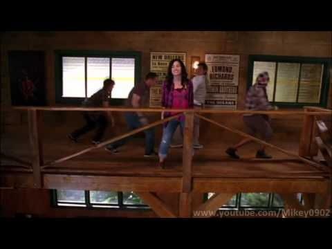 Camp Rock 2 The Final Jam - Can't back down(Official Movie Scene) + Lyrics/HD