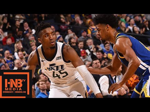 Golden State Warriors vs Utah Jazz Full Game Highlights / March 25 / 2017-18 NBA Season