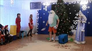 Амнезия Деда Мороза  Танец Снежные бабочки