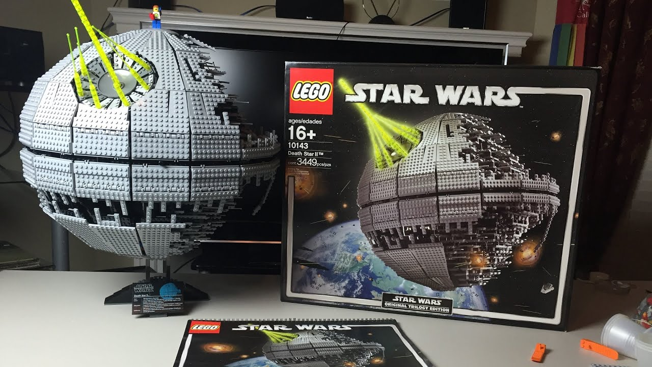 lego star wars ucs death star 2 speed build and review