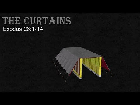 3D Tabernacle: Part 6 Of 12 - The Curtains