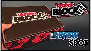 Subscription Spot | Horror Block March 2017 Subscription Box UNBOXING!