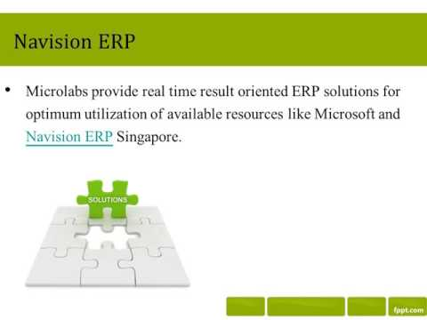 Enterprise Resource Planning Solutions