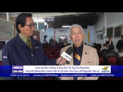 PHÓNG SỰ CỘNG ĐỒNG: Liên Uỷ Ban Chống Cộng Sản & Tay Sai họp báo ủng hộ đồng bào quốc nội