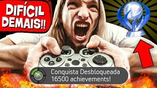 + 6 Conquistas mais DIFÍCEIS dos GAMES! 😡 🏆