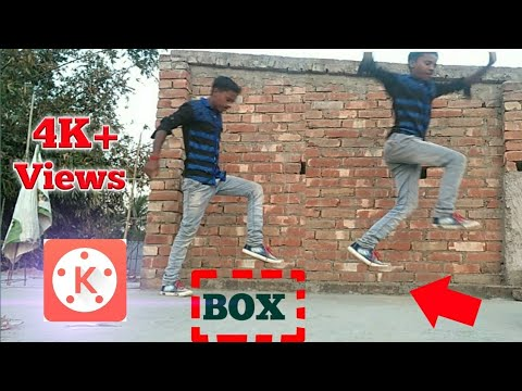 The Invisible Box Challenge Video Editing Tutorial On Kinemaster technical support Bm