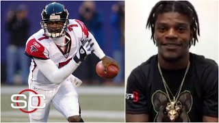 Lamar Jackson used to play Madden as Michael Vick   SportsCenter