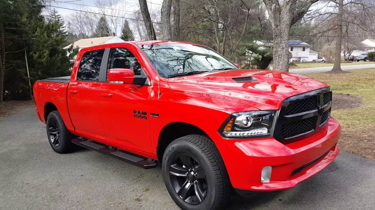 2017 ram 1500 sport night edition with mopar performance package exhaust and intake