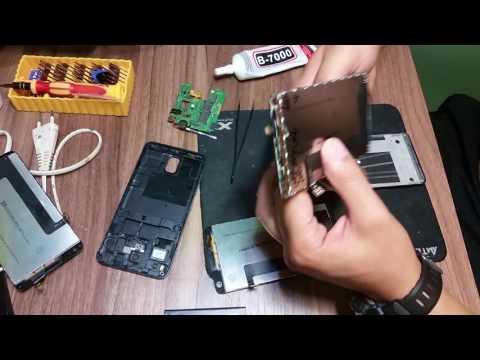 Замена дисплейного модуля на Lenovo S580