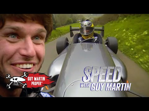 Guy's Hill Climb training in the Empire Wraith | Guy Martin Proper
