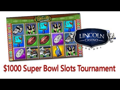 Lincoln Casino Super Bowl and Valentines Slots Tournaments