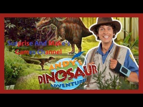 Andy's Dinosaur Adventures Game - Cbeebies