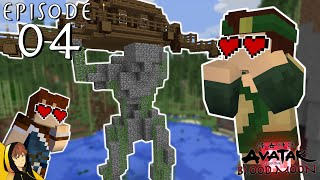 MY NEW EARTH BENDING BASE!!!   Minecraft - Avatar: Age of the Blood Moon [Series] w/Ch3k #4