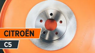Instalar Discos de freio você mesmo vídeo instrução em CITROËN C5