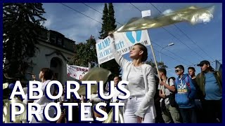 Groot abortus-protest in Slowakije