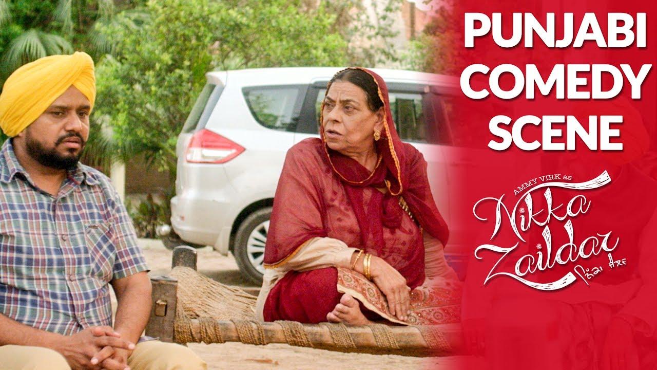 Punjabi Comedy Scene | Latest Comedy Movie Scene || Ammy Virk, Karamjit Anmol || Lokdhun Punjabi