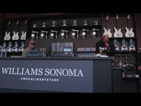 Adam Richman and Warren G Rap Together on the Williams Sonoma Culinary Stage