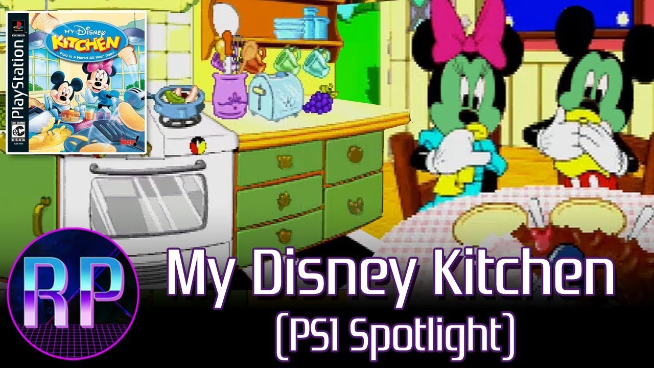 my disney kitchen mickey eats our disgusting food ps1 spotlight - My Disney Kitchen