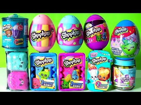 Shopkins Collection Series 1, 2, 3, 4, 5, 6 Shopkins Chef and Shopkins Egg Surprise Funtoyscollector