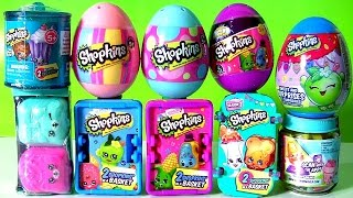Shopkins Collection Series 1, 2, 3, 4, 5, 6 Shopkins Chef and Shopkins Egg Surprise Funtoy ...