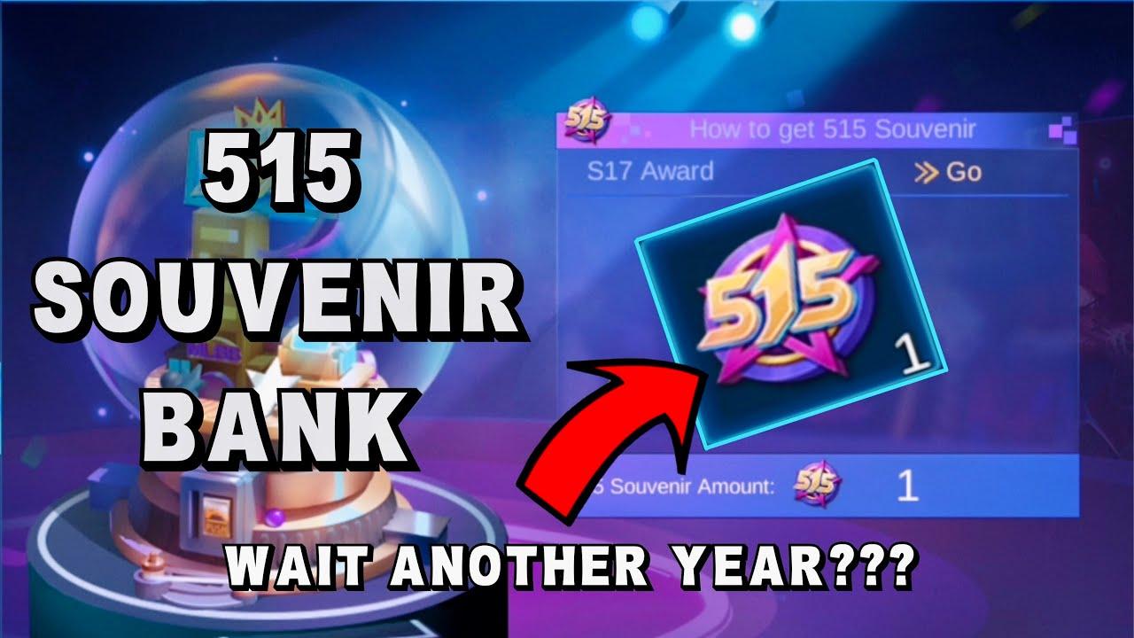 New Event '515 Souvenir Bank Event' | Complete Task & Claim 515 Souvenir - Mobile Legends Bang Bang