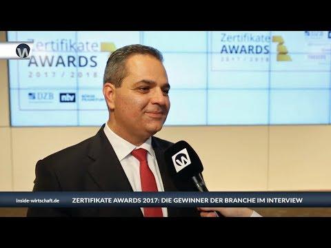 ZertifikateAwards 2017: Hussam Masri von der DekaBank im Interview
