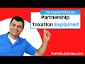 Partnership Taxation | Corporate Income Tax | CPA REG | Ch 21 P 1