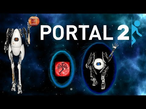 Dancing Like Human Imbeciles: Portal 2 CoOp  Part 4 Featuring Scoryth the Crimson Renegade
