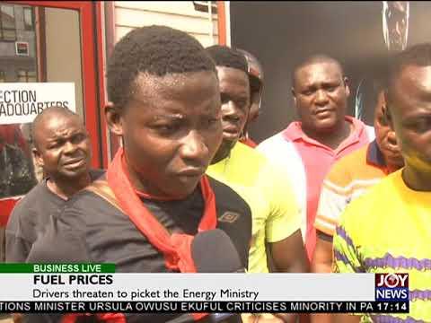Fuel Prices - Business Live on JoyNews (4-10-17)