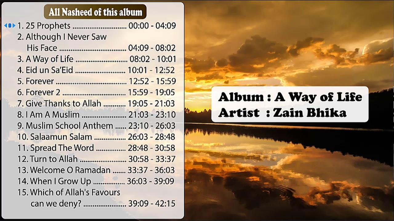 Download A Way of Life || Zain Bhika || Full album