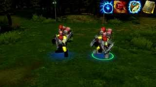 Heroes of Newerth - Tork the Ultimate Engineer (With Effects)
