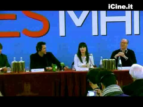 YES MAN - Jim Carrey Zooey Deschanel Peyton Reed PRESS CONFERENCE STAMPA 3 Roma PREMIERE