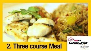 #fame Food - Fried Rice With Lemon Pepper Chicken   Sneha Dutta   Webchef Finale