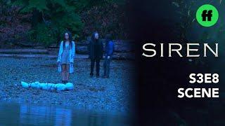 Siren Season 3, Episode 8 | Ryn & Cami Return Donna's Body To The Sea | Freeform