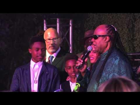 Global Green USA Pre Oscar Party: Stevie Wonder Global Green Hero Award Presentation
