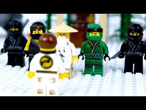 LEGO Ninja School STOP MOTION Back To School | LEGO Ninjago | By LEGO Worlds
