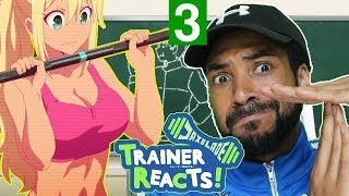 Personal Trainer Reacts To How Heavy Are the Dumbbells You Lift Ep 3