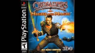 Crusaders of Might and Magic - 3 level forest (PSX; PlayStation; PS1;PSone)