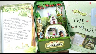 DIY Miniature Doll house kit!Dream house in the forest♡