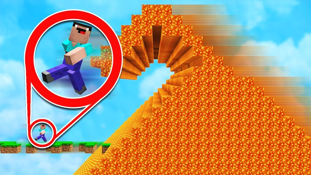 ESCAPE THE SUPER CRAZY LAVA! IMPOSSIBLE!