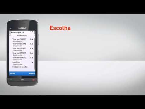 Nokia C5-03 - Configuração de Wi-Fi