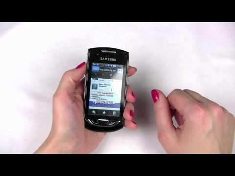 Видеообзор телефона Samsung S5620 Monte