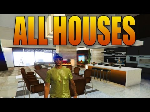 ALL NEW HOUSES & APARTMENTS IN GTA ONLINE! (Executives DLC -  $1.1 Million Penthouse Suite!)