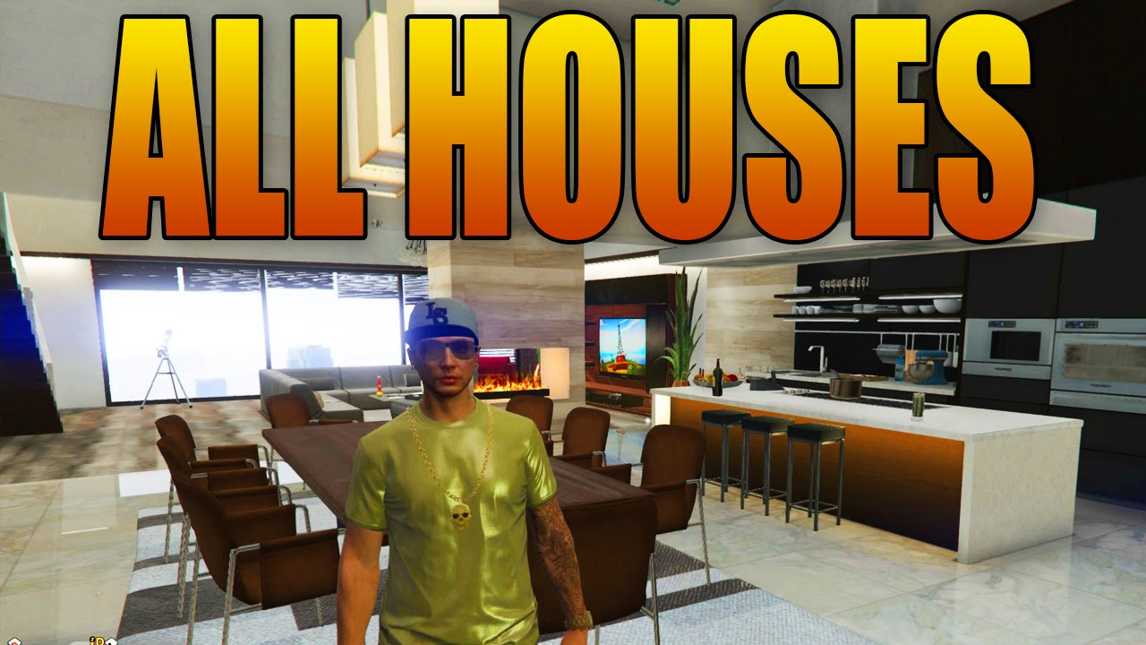 All New Houses Amp Apartments In Gta Online Executives Dlc